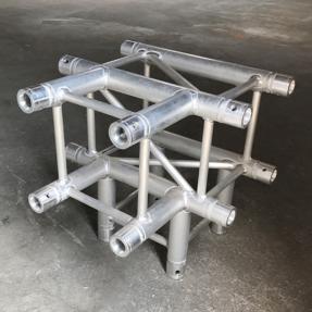 Tweedehands Eurotruss FD34-TD truss vierkant 4-weg t-stuk