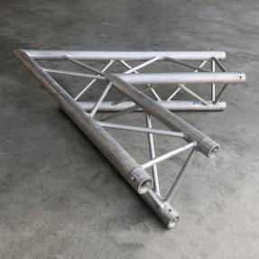 Tweedehands Prolyte H30D-C002 truss driehoek 60 graden 2-weg hoek