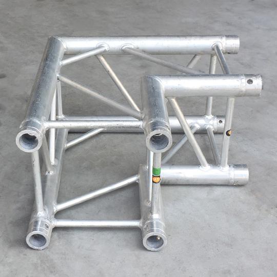 Tweedehands Milos QCF21 truss vierkant 90 graden 2-weg hoek
