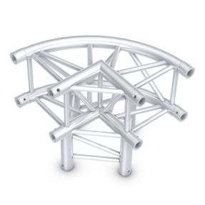 Milos QLU30 truss vierkant 3-weg cirkel hoek