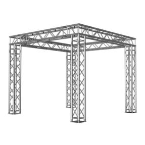 Milos truss vierkant beursstand carré 3x3x2,5 m
