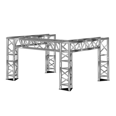 DJ-booth driehoek 2x1,5x1 m