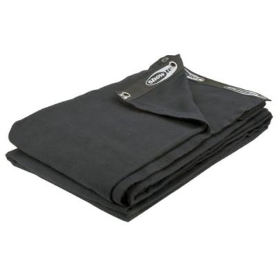 Showtec Backdrop zwart 6m (B) x 6m (H)