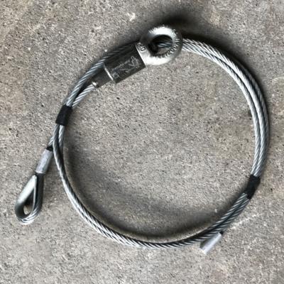 Tweedehands Reutlinger kabelglijder type 80SV II M20 ring + 3 m steel