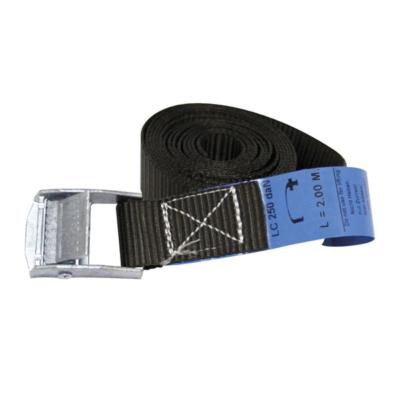 ELLER gespband 1 delig lengte 5m - 25mm WLL 500kg zwart