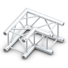 Milos QCB21 truss vierkant 90 graden 2-weg hoek