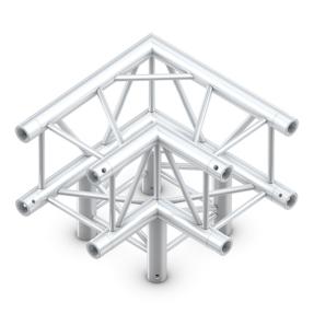 Milos QLB30 truss vierkant 3-weg hoek