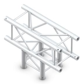 Milos QTB35 truss vierkant 3-weg t-stuk