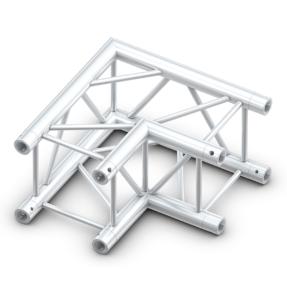 Milos QCM21 truss vierkant deco 90 graden 2-weg hoek
