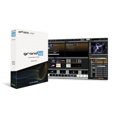 Arkaos Grand VJ 2.5 Videomixsoftware - bestuurbaar via MIDI - licentie