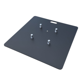 Universele truss baseplate staal 73 cm - 6mm dik zwart