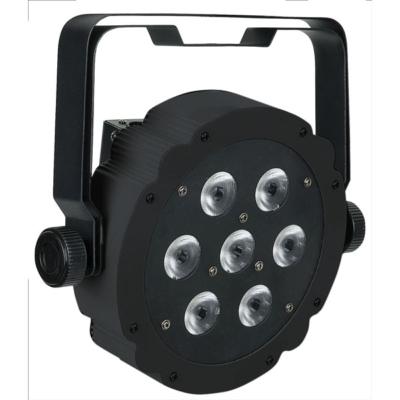 Showtec Compact Par 7 Tri RGB zwart
