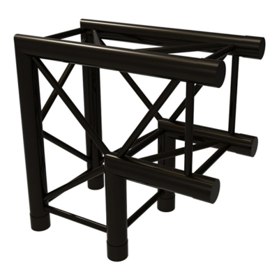 Prolyte truss vierkant H30V-C003 2-weg 90 graden zwart