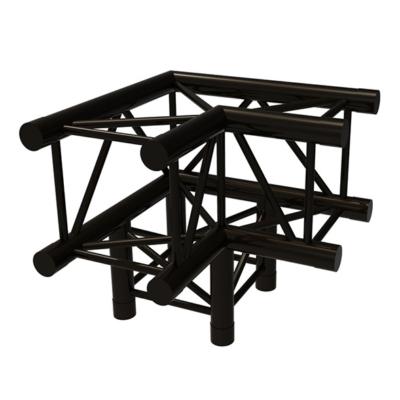 Prolyte X30V vierkant truss C012 3-weg 90 graden zwart