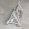 Tweedehands Naxpro-Truss ED33 driehoek 80 cm met 3-fase rail