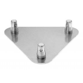 Baseplate voor Prolyte truss driehoek BASE-30D