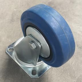 Tweedehands blauw Tente zwenkwiel geremd