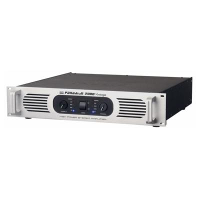 DAP-Audio P-2000 2U krachtige dubbele klasse H stereo PA-versterker, zilver
