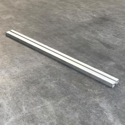 Tweedehands Nivtec aluminium keerprofiel adapter 100cm