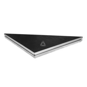StageDex SM-DL-B-9 Basic Line 100x100cm driehoek zwart