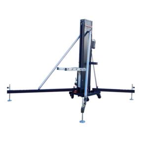 Fantek FT7045 vorklift statief 1,9-7m 450kg zwart