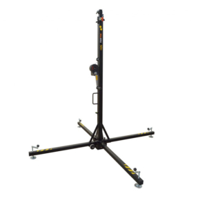 Fantek T102D Wind-Up top load statief 1,99 - 5m 100kg zwart