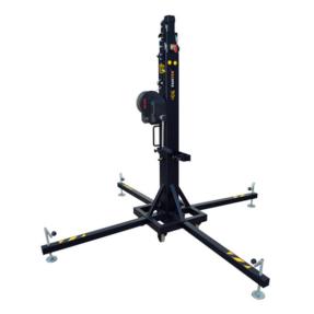 Fantek T105D Wind-Up top load statief 1,75 - 5,30m 225kg zwart