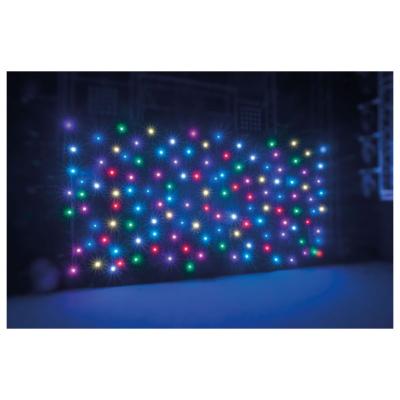 Showtec Star Sky Pro II 6x4m zwart kleed, RGB-LED's inclusief case, exclusief controller