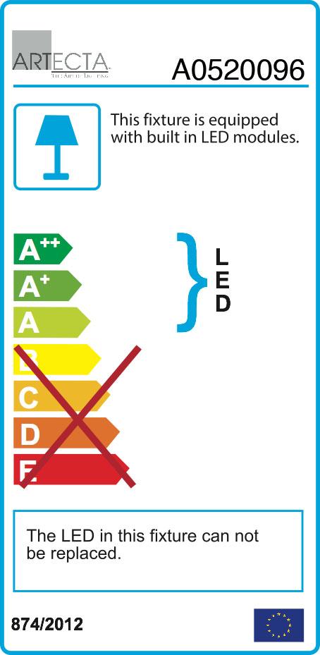 Artecta Bogor-M2WW 1x2W LED