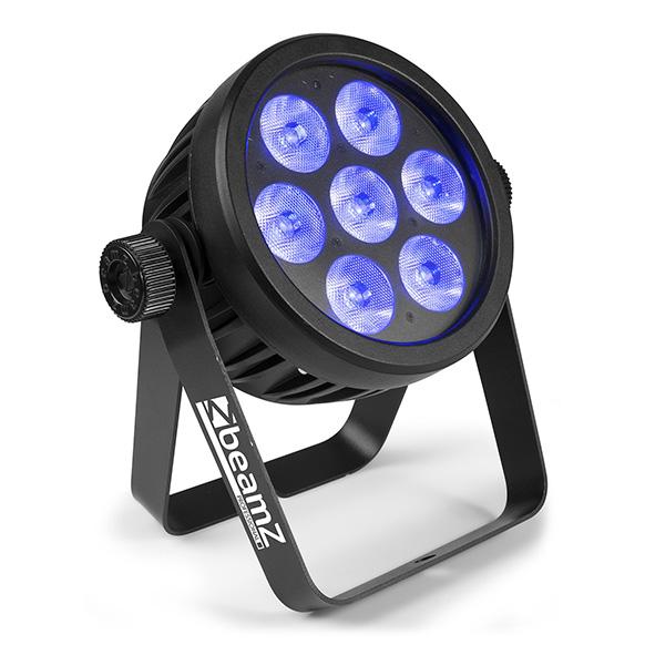 BeamZ Professional BAC500 Aluminium LED ProPar RGBA-UV-CW/WW