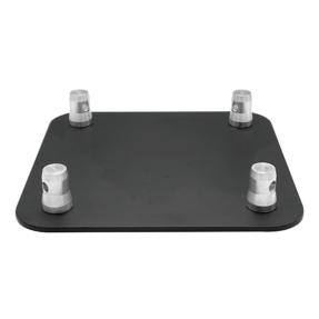 Baseplate voor Milos QTB vierkant truss zwart