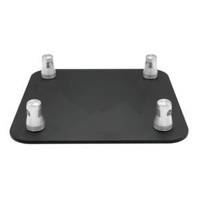 Baseplate voor SIXTY82 truss vierkant zwart