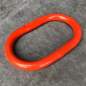Tweedehands Topschalm oranje voor 7mm leng / 6mm tweesprong grade 80 WLL 1,6 ton