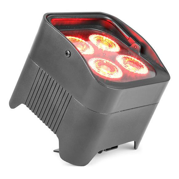 BeamZ BBP94 accu LED PAR 4x 10W 6-in-1 RGBAW-UV