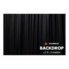 Admiral Backdrop 320 gram/m² 3m (b) x 3m (h) zwart