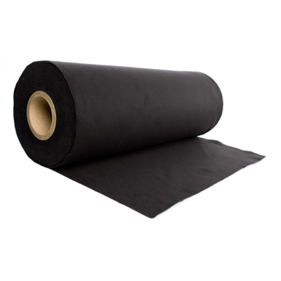 Admiral Deco-Molton op rol 60m x 20cm zwart
