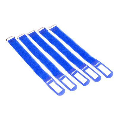 Admiral cable wrap 26cm blauw (5 stuks)