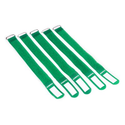 Admiral cable wrap 26cm groen (5 stuks)