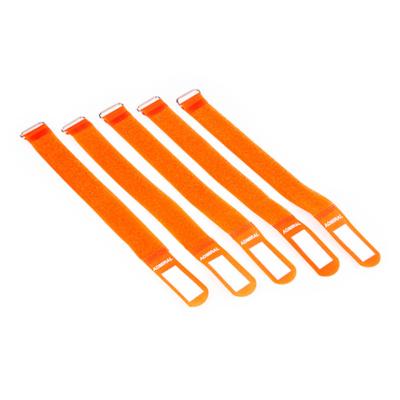 Admiral cable wrap 26cm oranje (5 stuks)