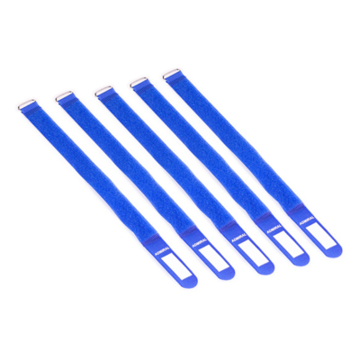 Admiral cable wrap 38cm blauw (5 stuks)