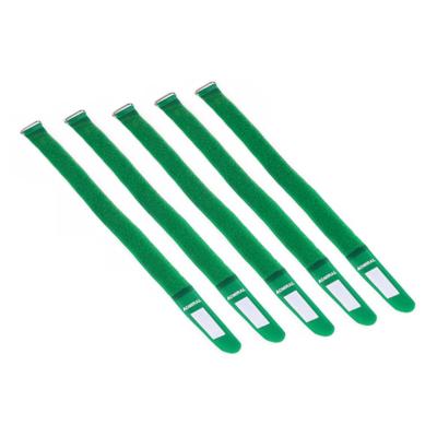 Admiral cable wrap 38cm groen (5 stuks)