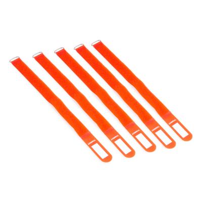 Admiral cable wrap 38cm oranje (5 stuks)