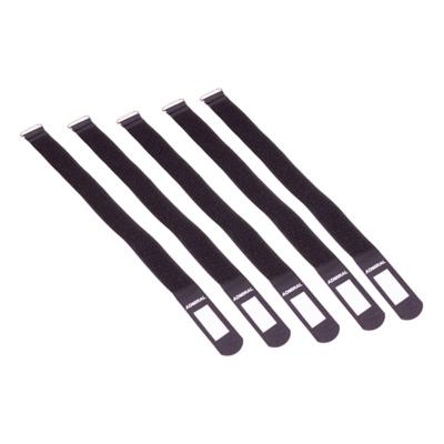 Admiral cable wrap 38cm zwart (5 stuks)