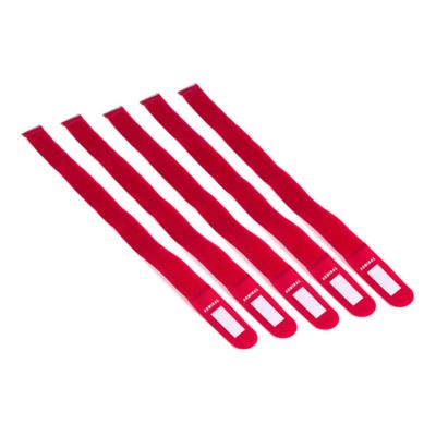 Admiral cable wrap 55cm rood (5 stuks)