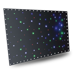 BeamZ Stardrape Sparklewall LED96 RGBW 3x2m met controller