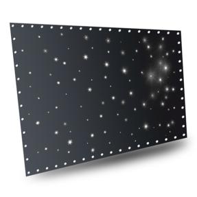 BeamZ Stardrape Sparklewall LED96 Coolwhite 3x2m met controller