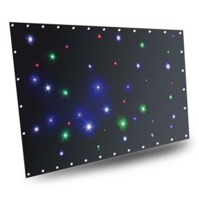 BeamZ Stardrape Sparklewall LED36 RGBW 2x1m met controller