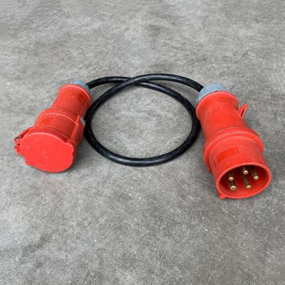 Tweedehands Adapter CEE 32A Male naar CEE 16A Female - 82,5cm