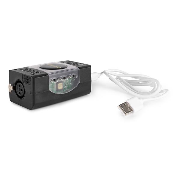 BeamZ Professional USB DMX Interface met Light Rider / ESA2