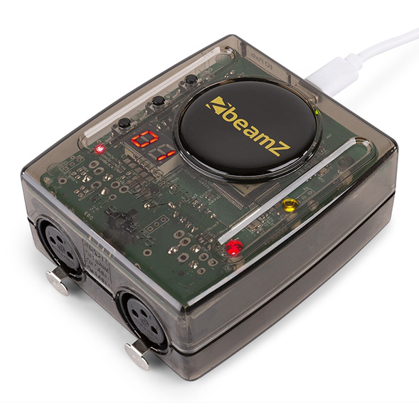 BeamZ Professional WiFi-USB DMX Interface met Light Rider / ESA2